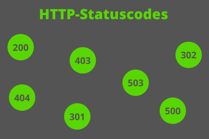 HTTP Statuscode – Was bedeuten die verschiedenen Errors?